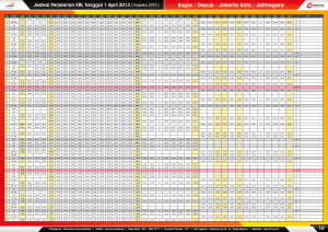 1a - Jadwal Perjalanan KRL 1 April 2013 ( BOO - JAK ) LR