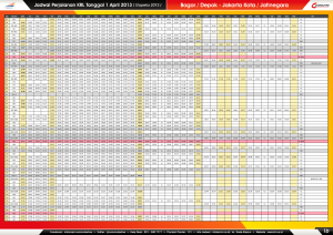 1b - Jadwal Perjalanan KRL 1 April 2013 ( BOO - JAK ) LR
