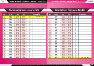 5b - Jadwal Perjalanan KRL 1 April 2013 ( KPB ) LR